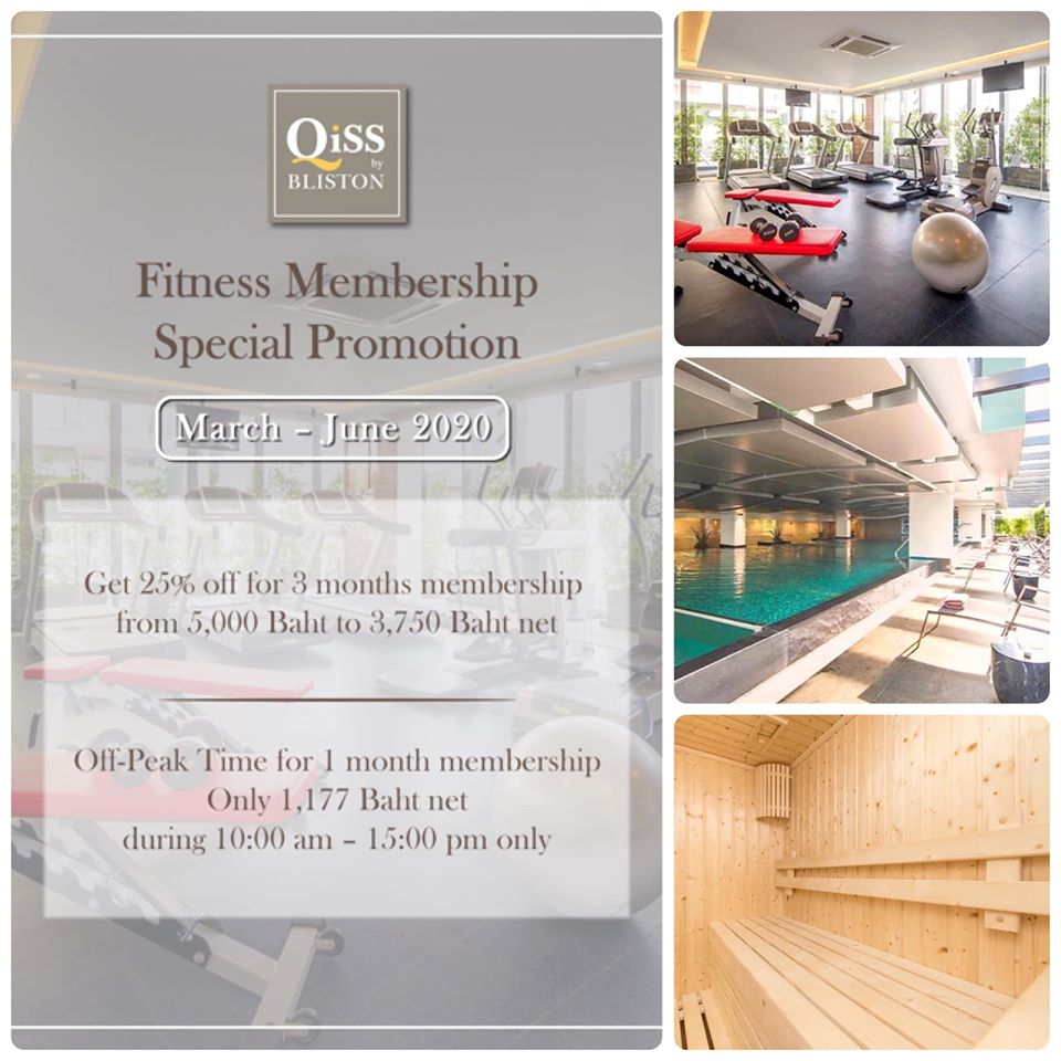 Fitness Center Promotion at Qiss Residence by Bliston