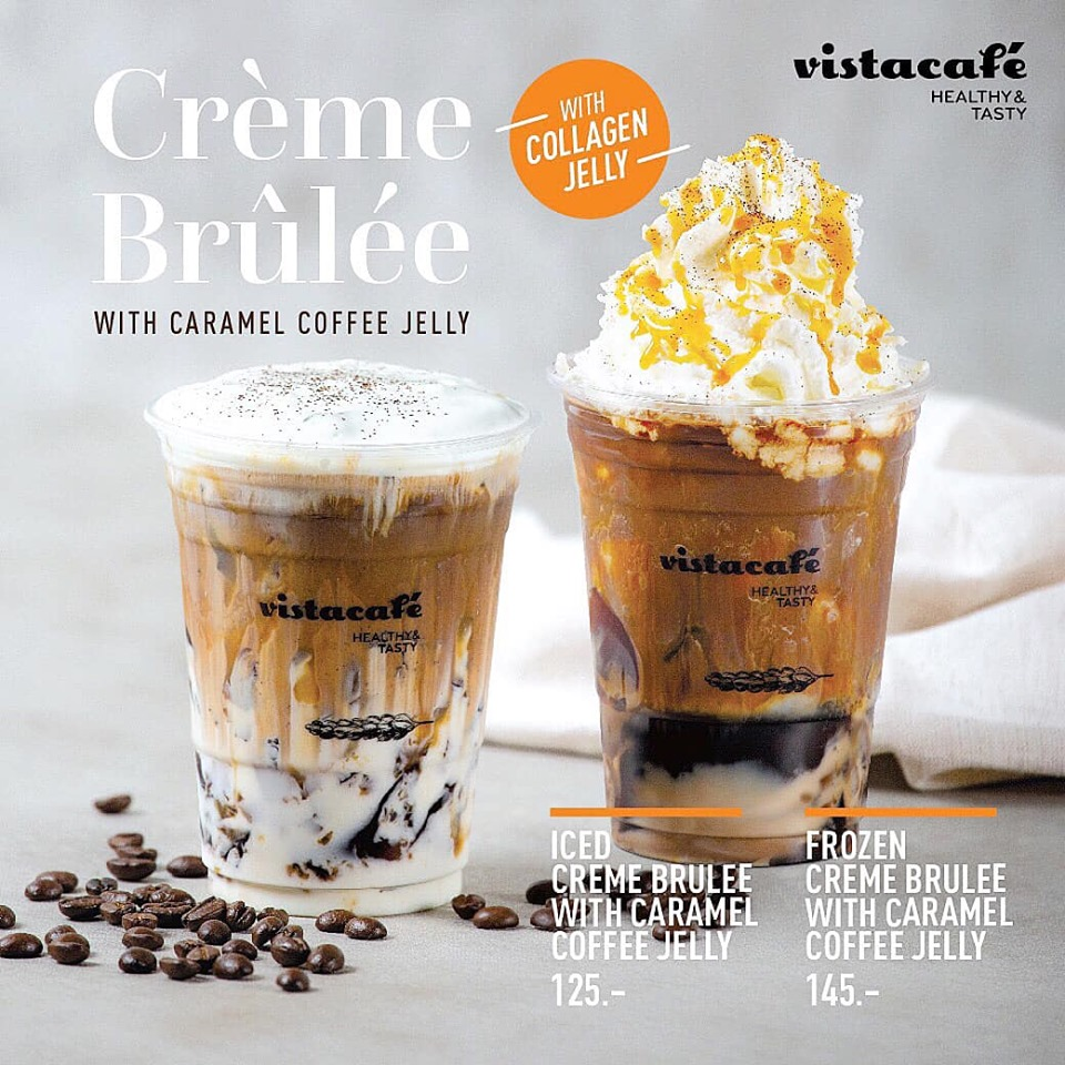 CRÈME BRÛLÉE with Caramel Coffee & Collagen Jelly