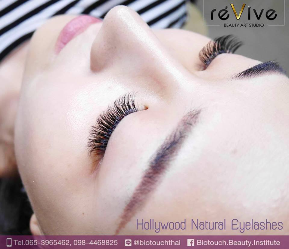 Hollywood Natural Eyelashes by RéVive (Biotouch)